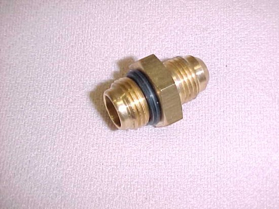 Check valve end fitting