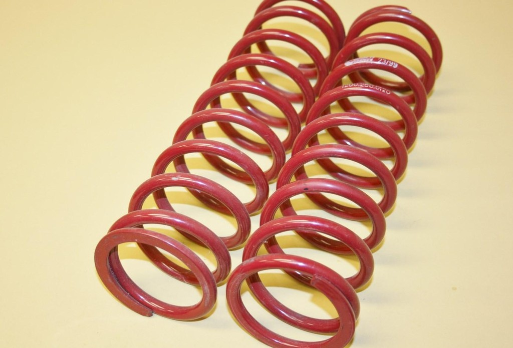 """Eibach 1200-250-0200 Coil-Over Springs 12.000/"""" Spring Length Red Powdercoated"""