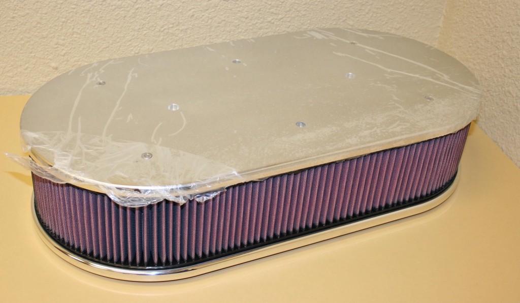 Fuel System Cleaner >> Dual Carburetor 4150 Flame Arrestor/Air Cleaner Assm.