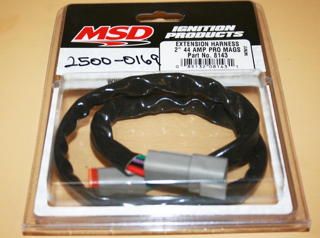 msd wiring harness for points box 44 amp 8143. Black Bedroom Furniture Sets. Home Design Ideas