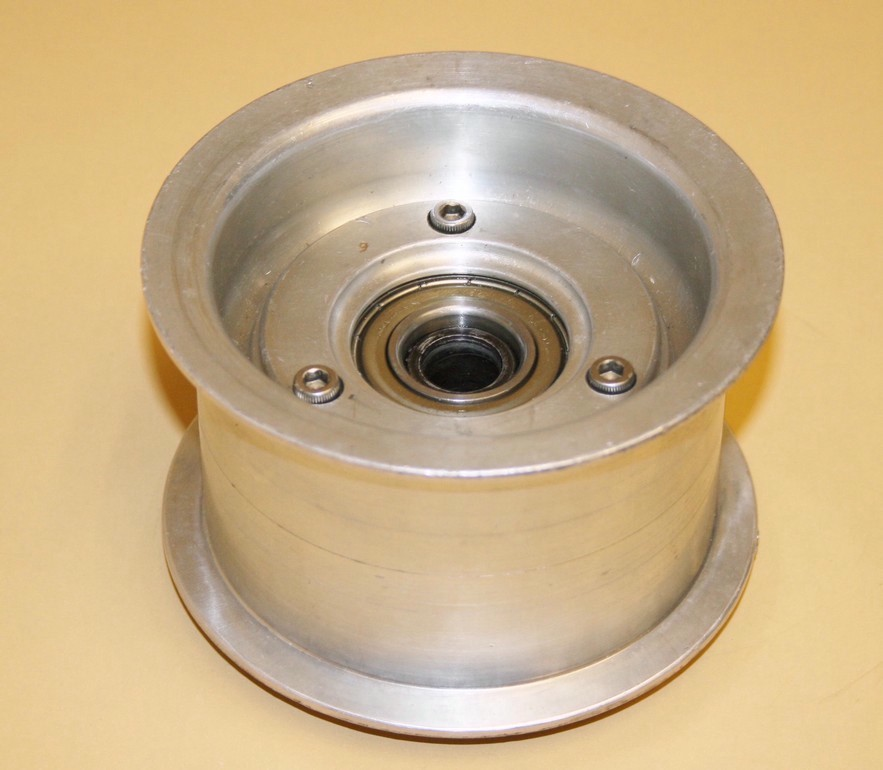 """Kavs Lightweight Supercharger Pulley: Used 2.625"""" Large Dia. Billet Alum. Idler Pulley"""