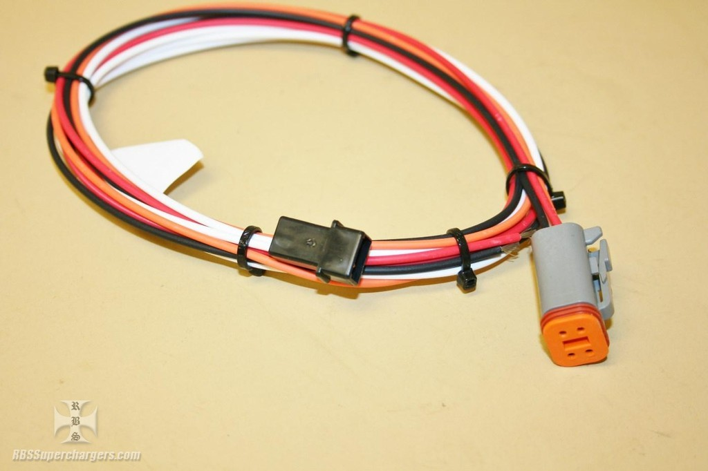 msd power grid wiring harness 12 volt #7730/#30319  rbs superchargers