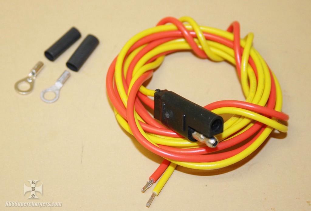 fie mallory magneto to coil wire harness