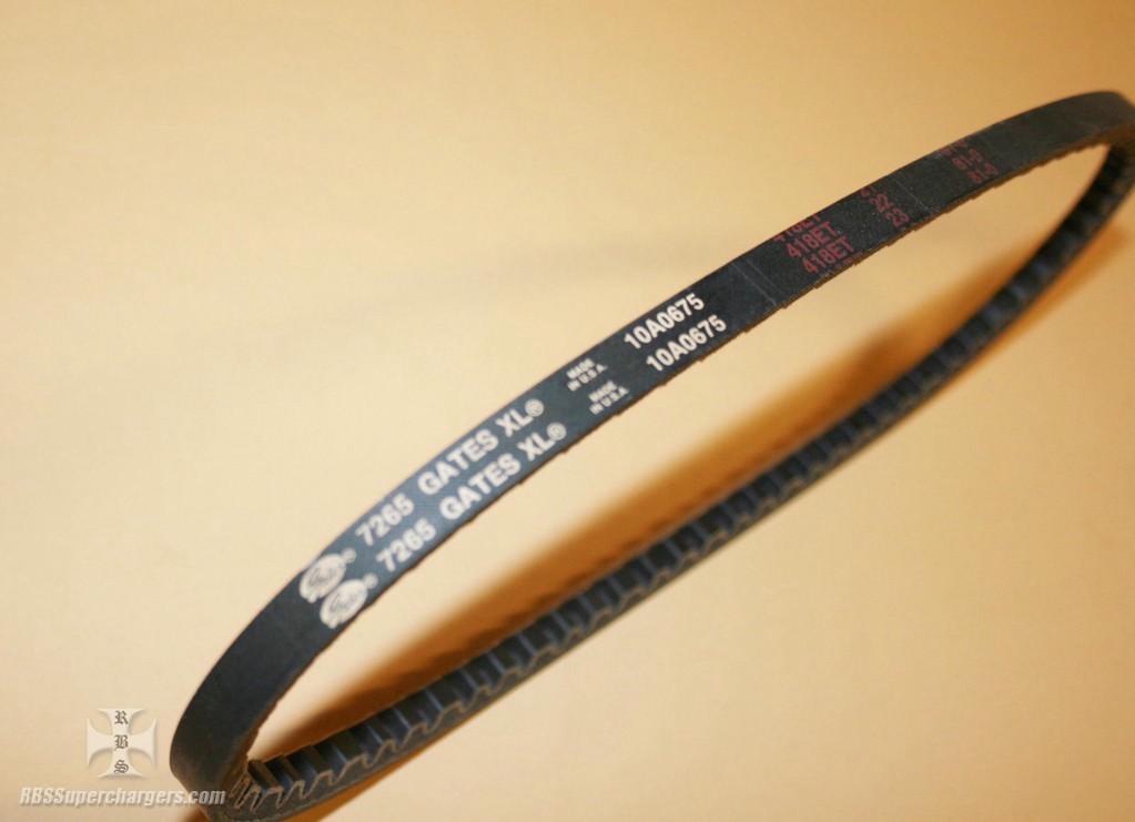 Xl Pulleys And Belts : Rubber v belt gates xl