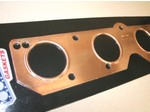 392 Hemi Embossed Copper Round Exhaust Gasket Set