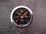 0 To 30 Liquid Filled Pound Boost Gauge