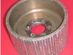 Used 8mm GT 76 Center Flange Blower Pulley Mag 4.30""