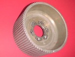 Used 8mm GT 78 Center Flange Blower Pulley Mag 4.30""