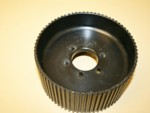 Used 8mm 72 Tooth GT Blower Pulley Center Flange Alum.