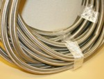 Used -12 Braided Stainless Steel CPE Hose 90ft.