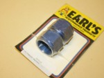 Used -16 Female To Female Flare Swivel Coupling Alum. Earl's #915116