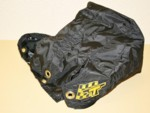 "DJ Black Nylon Parachute Pack 9"" x 9"" x 7"""