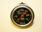 0 To 30 Pound Liquid Filled Boost Gauge