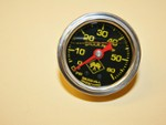 0 To 60 Pound Liquid Filled Boost Gauge