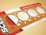 "392 Hemi AJ Copper Head Gasket Set 4.060"" No Water"