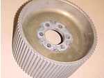 Used 8mm GT 79 Center Flange Blower Pulley Mag 4.30""