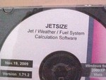 Accel. Ent. Jet/Weather/Fuel System Calculation Software