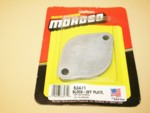 Used Moroso Water Neck Block-Off Plates #63471