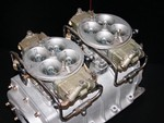 SOLD Used Dual Holley 1050 cfm Dominator Carburetor Kit
