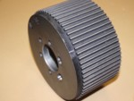 Used 8mm 65 Tooth Blower Pulley Alum. Display