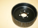 Used 11mm 58 Tooth Center Flange Blower Pulley GT