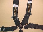 Taylor Seat Belt Harness Camloc Nomex Black