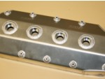 Fuel Hemi Head Fabricated Alum. Valve Cover Set Moroso