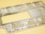 "Used 2.00"" Billet Blower Set Back Plate"