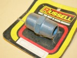 "Used 3/4"" NPT Pipe Male Nipple Russell #6154"