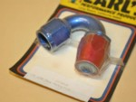 Used -10 150 Degree AN Fitting Non Swivel Alum. Earl's #315010
