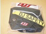 "DJ Black Nylon Parachute Pack 9"" x 9"""