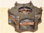 "Used Titan Black Star Hemi 10"" Three Disc Pedal Clutch"