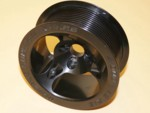 Used Whipple Mini Screw Blower Pulley 4.00""