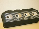 OUT OF STOCK Fuel Hemi Head Valve Covers Finned Stage Five