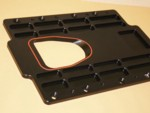 "DMPE M-5 2"" Set Back Blower Plate"