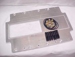 "Retro Roots Blower Set Back Plate 2.25""/1"" To The Front Case"
