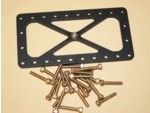 Burst Panel Frame Inner W/Support Bolt And Nut