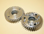 "Steel Blower Gear Set Roots .984"" Shaft (1300-0025)"