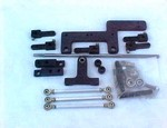Blown Motor Dual Carb Linkage Kit