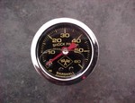 0 To 60 Pound Liquid Filled Boost Gauge (1300-0015)