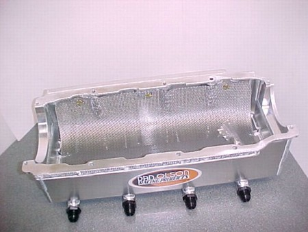 Olson Billet Rail BBC Dry Sump Oil Pan (2600-0035)