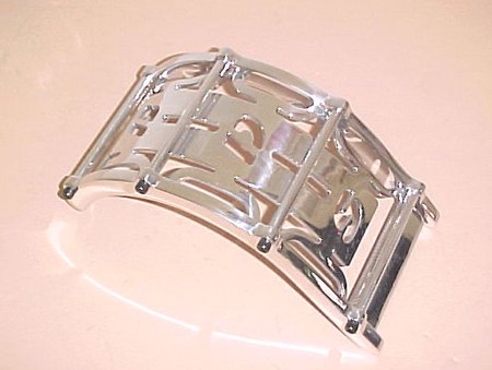 Blower Belt Guard Polished Roots BDS (2025-0001BDS)