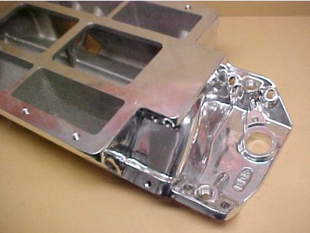 BBC BDS Competition Std. Deck Blower Manifold Polished (1100-0016B)