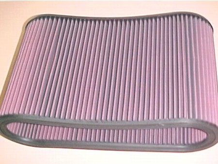 "10.00"" K&N Filter Assm. W/Outerware & Pins (390-0002)"