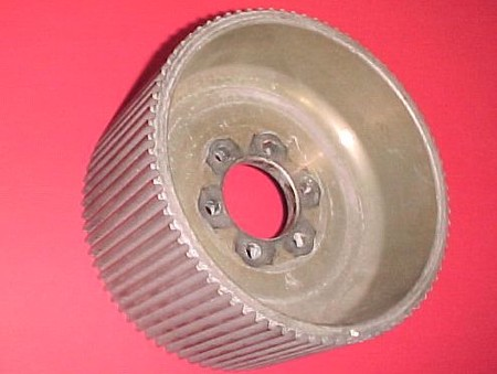 "Used 8mm GT 78 Center Flange Blower Pulley Mag 4.30"" (7001-0878MGTC2)"