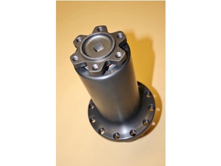 "7.375"" DMPE Roots Blower Snout Assm. Alum. (1400-0008D)"