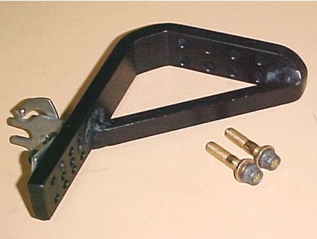 Fabricated Throttle Cable Bracket Assm. w/bolts (2200-0022S)