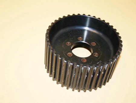 Used 14mm 40 Tooth GT Alum. Blower Pulley Center Flange (7001-1440C)