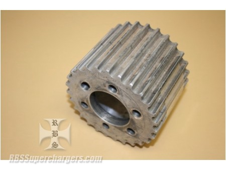Used 13.9-27 Tooth Blower Pulley Alum. (7001-0027Q)