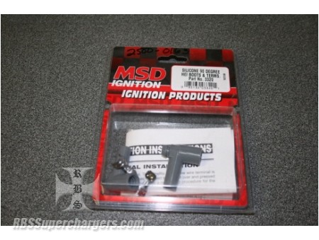 MSD Ignition 3320 Replacement Spark Plug  Gray Wire Boot and Terminal Kits MSD I